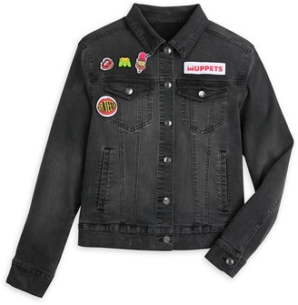 Disney Dr. Teeth and the Electric Mayhem Black Denim Jacket for Women