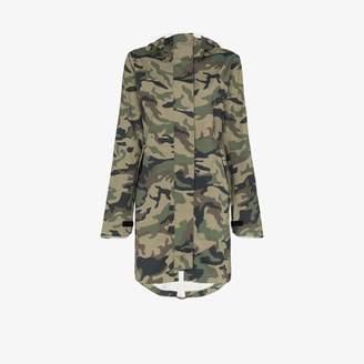 Canada Goose Womens Green Salida Camouflage Coat