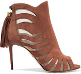 Paul Andrew Hanna suede and mesh ankle boots