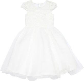 Us Angels The Tina Floral Lace Tulle Dress