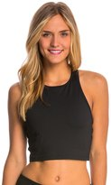Betsey Johnson Side Cutout Yoga Crop Top 8146738