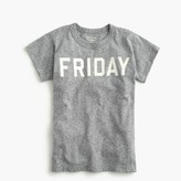 "J.Crew Boys' ""Friday"" T-shirt in the softest jersey"