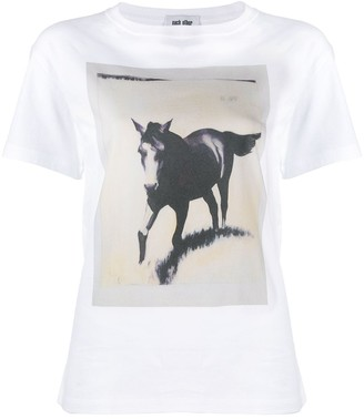 Each X Other Amanda Wall charity collaboration Horse T-shirt