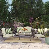 Three Posts Pavilion 5 Piece Deep Seating Group with Cushion