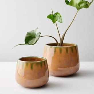 west elm Reactive Glaze Pots