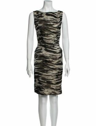 Lanvin 2013 Knee-Length Dress Grey