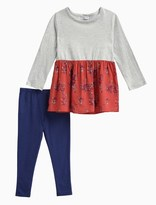 Splendid Little Girl Jersey Printed Rayon Top and Pant Set