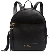 Salvatore Ferragamo Samy Leather Backpack