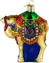Magis Old World Christmas Magi's Camel Glass Blown Ornament