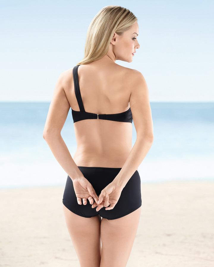 Soma Intimates Veronica Brett Post Surgical One-Shoulder Bikini Top