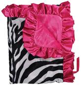 Zoe Zebra Stroller Blanket