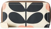 Orla Kiely Summer Flower Stem Big Zip Wallet Wallet Handbags