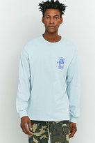 Uo False Gods Blue Long-sleeve T-shirt