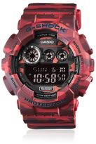 G-Shock Absolute Red Camouflage Digital Watch