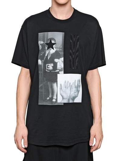 Givenchy Child Printed Jersey Oversized T-Shirt