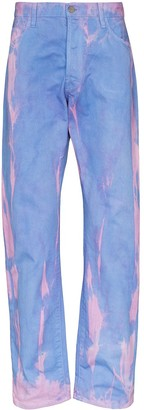 Aries MLP Lilly dyed jeans