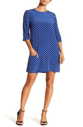 Equipment Aubrey Silk Dot Print Dress