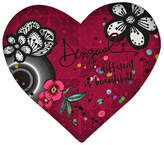 Desigual B&W Luxury Heart Cushion