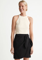 Thumbnail for your product : And other stories Lyocell Blend Wrap Mini Skirt