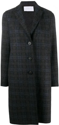 Harris Wharf London Checked Single-Breast Coat