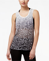 Material Girl Active Juniors' Cutout-Back Burnout Tank Top, Only at Macy's