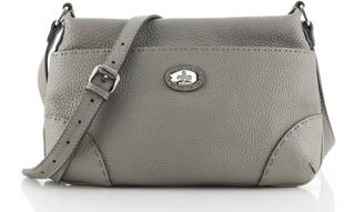 Fendi Selleria Front Pocket Crossbody Bag Leather Medium