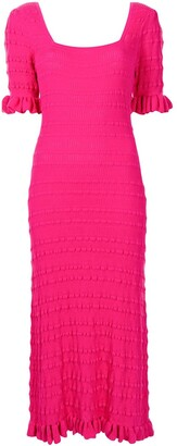 Adam Lippes Knitted Midi Dress