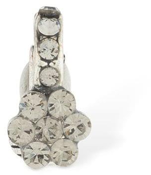 Etro Crystal Flower Deco Mono Ear Cuff