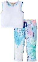 Appaman Kensington Pant Set (Baby) - Watercolor - 6-12 Months