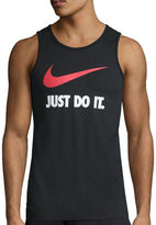 Nike Just Do It Swoosh Sleeveless Crew Neck T-Shirt