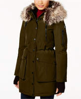 BCBGeneration Faux-Fur-Trim Parka