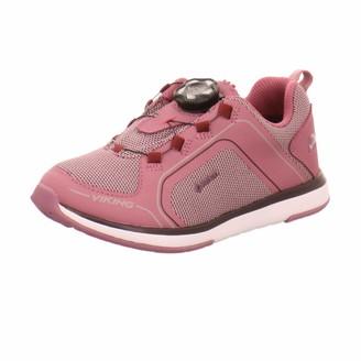Viking Unisex Kids Seim Boa GTX Low-Top Sneakers (Dark Pink/Violet 3921) 11.5 UK
