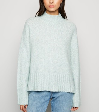 New Look Ribbed High Neck Jumper