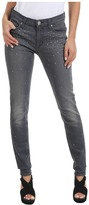 Hudson Nico Mid Rise Super Skinny in Alloy Studded Ombre (Alloy Studded Ombre) - Apparel