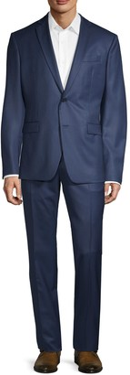 Versace Modern-Fit 2-Piece Solid Wool Suit