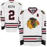Reebok Chicago Blackhawks Duncan Keith Premier Stitched Jersey (3XL)