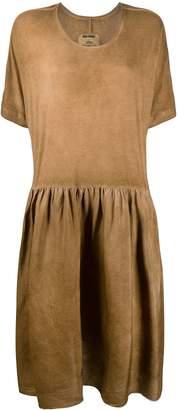 UMA WANG short-sleeve flared midi dress