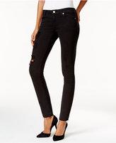 MICHAEL Michael Kors Izzy Worn Black Skinny Jeans