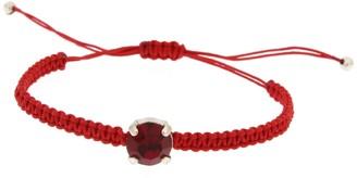 Rosaspina Firenze Red Chaton Macrame Bracelet