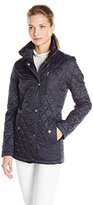 Nautica Women's Fitted Barn Quilted Jacket