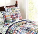 Pottery Barn Kids Madras Quilt