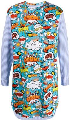 Comme des Garcons oversized contrast shirt