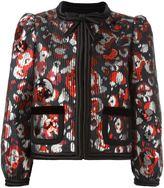 Marc Jacobs Warped Flower sequin jacket - women - Silk/Polyester/Metallized Polyester - 4