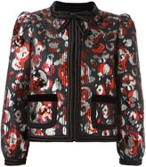 Marc Jacobs Warped Flower sequin jacket - women - Silk/Polyester/Metallized Polyester - 8