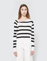 Cheap Monday Rubble Knit in White Stripe