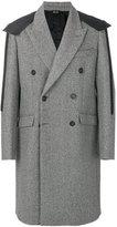 No.21 shoulder tab military coat