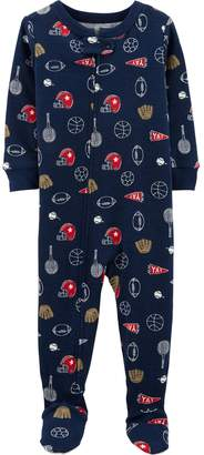 Carter's Toddler Boy Sports Footed Pajamas
