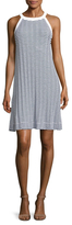 Three Dots Stripes A-Line Dress