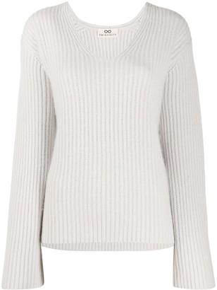 Sminfinity Oversized Knitted Top
