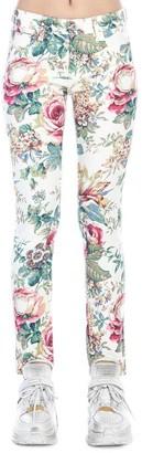 Junya Watanabe Floral Skinny Jeans